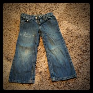 Boys 3T Bootcut distressed jeans